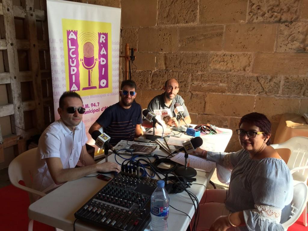 Salvador Martínez a Alcúdia Ràdio